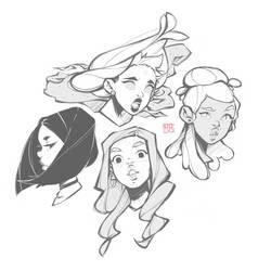 Sketching II by i-adhi