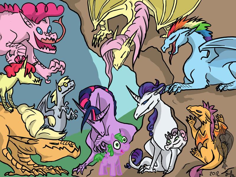 dragon_ponies_by_devilsmessiah-d52lln0.jpg