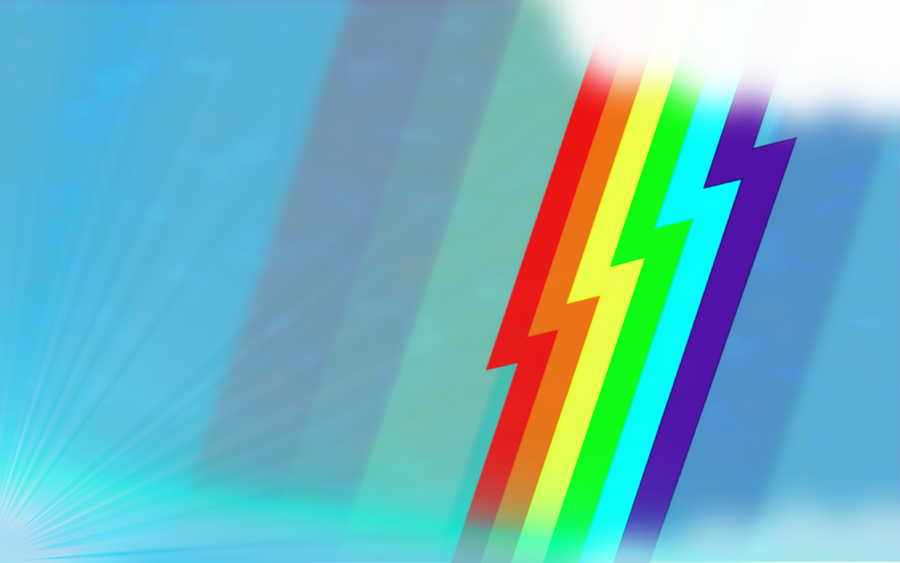 Rainbow Dash Wall by flamevulture17