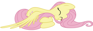 Fluttershy Nibble by flamevulture17
