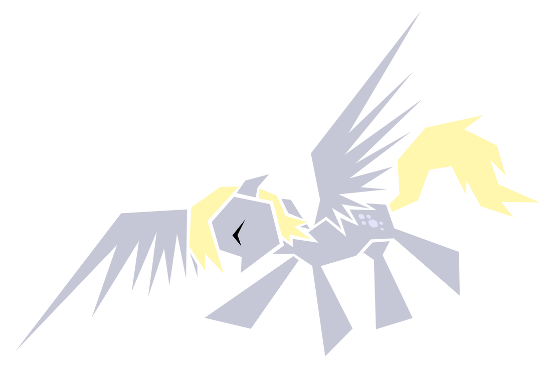 Polygonal - Derpy Hooves by flamevulture17