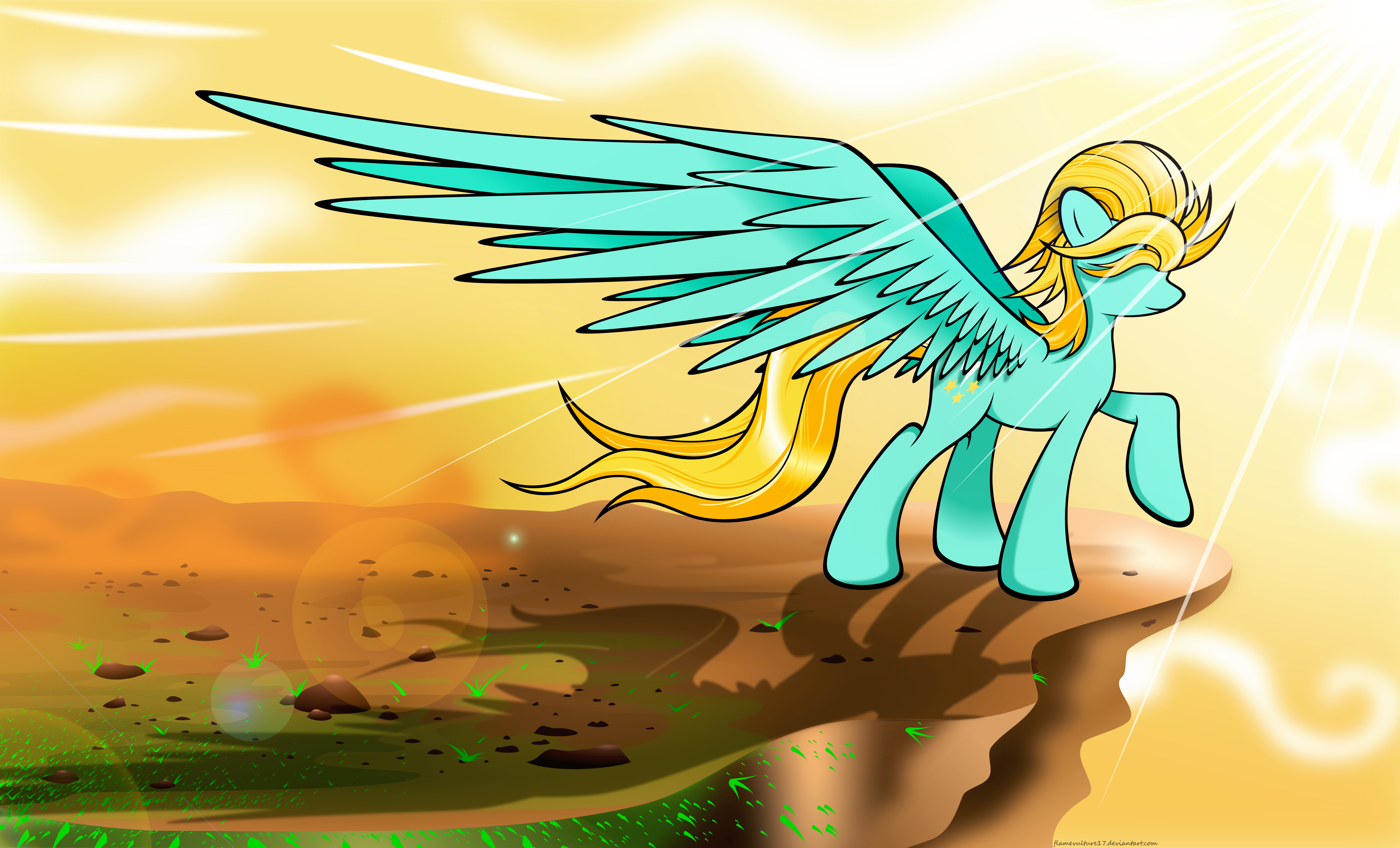 Dynamic Dust by flamevulture17