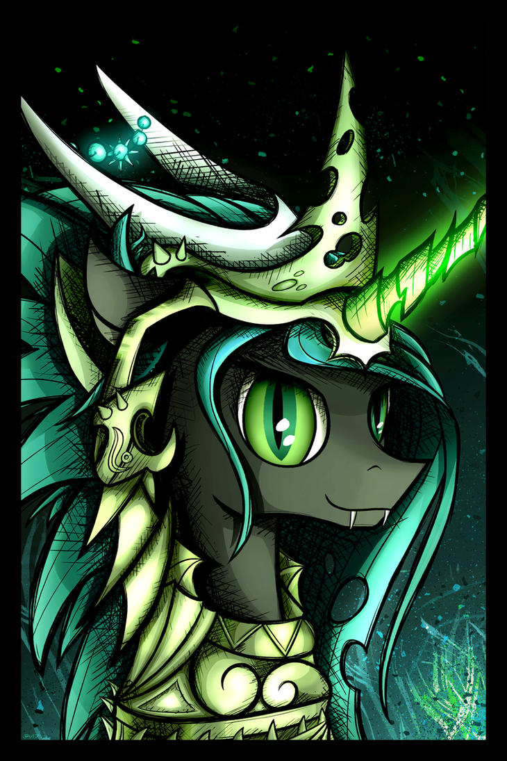 Armor Chrysalis by flamevulture17