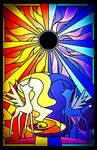 Equestrian Solar Eclipse
