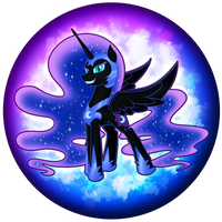 Nightmare Moon Orb by flamevulture17