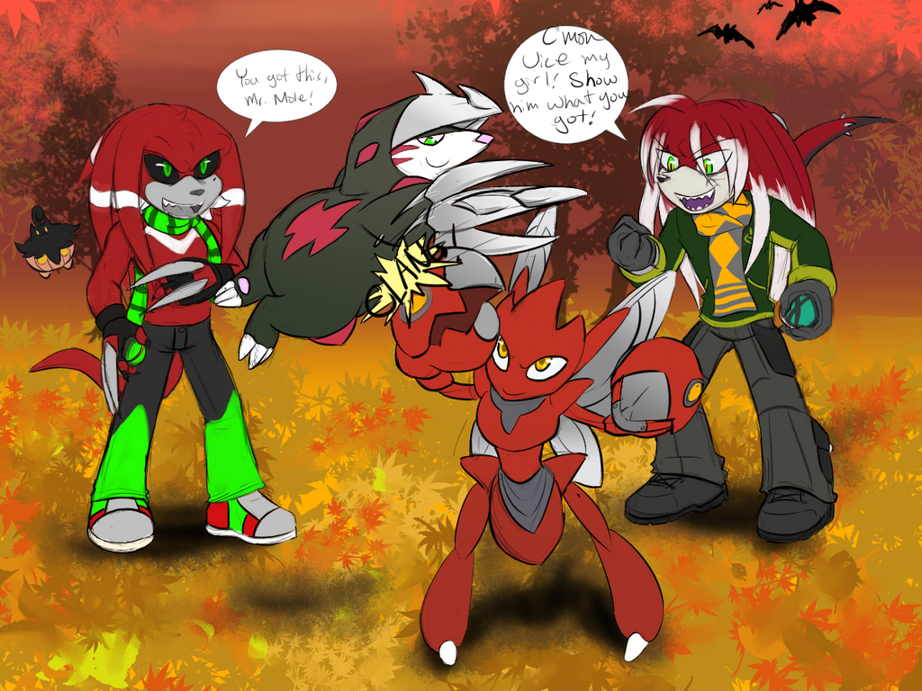 RED STEEL FALL THROW DOWN YEAH by cyberill