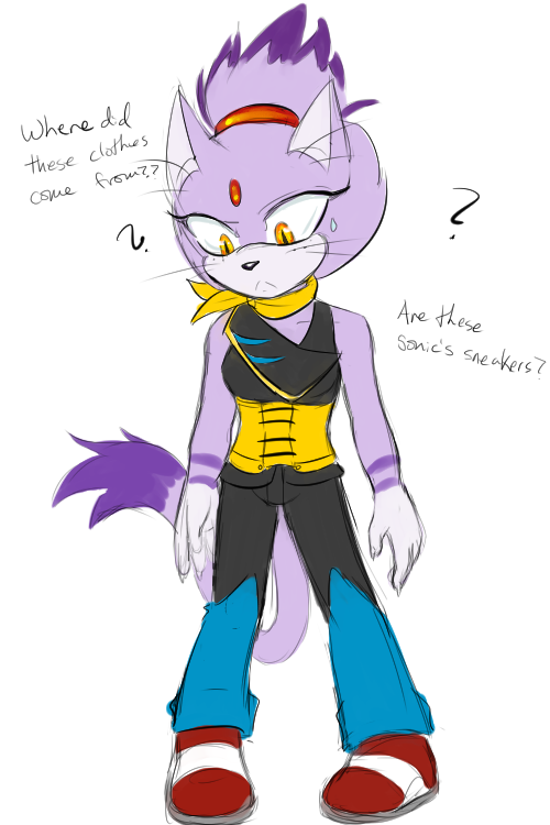 Blaze in Metal's clothes by cyberill