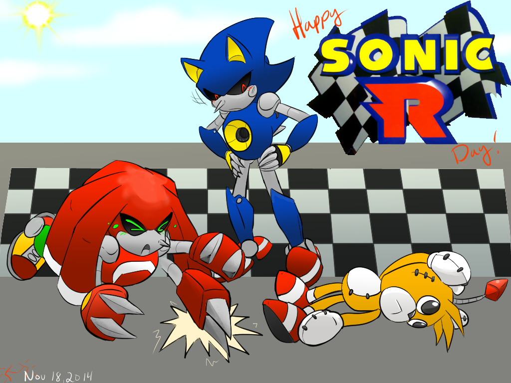 Happy Sonic R Day by cyberill