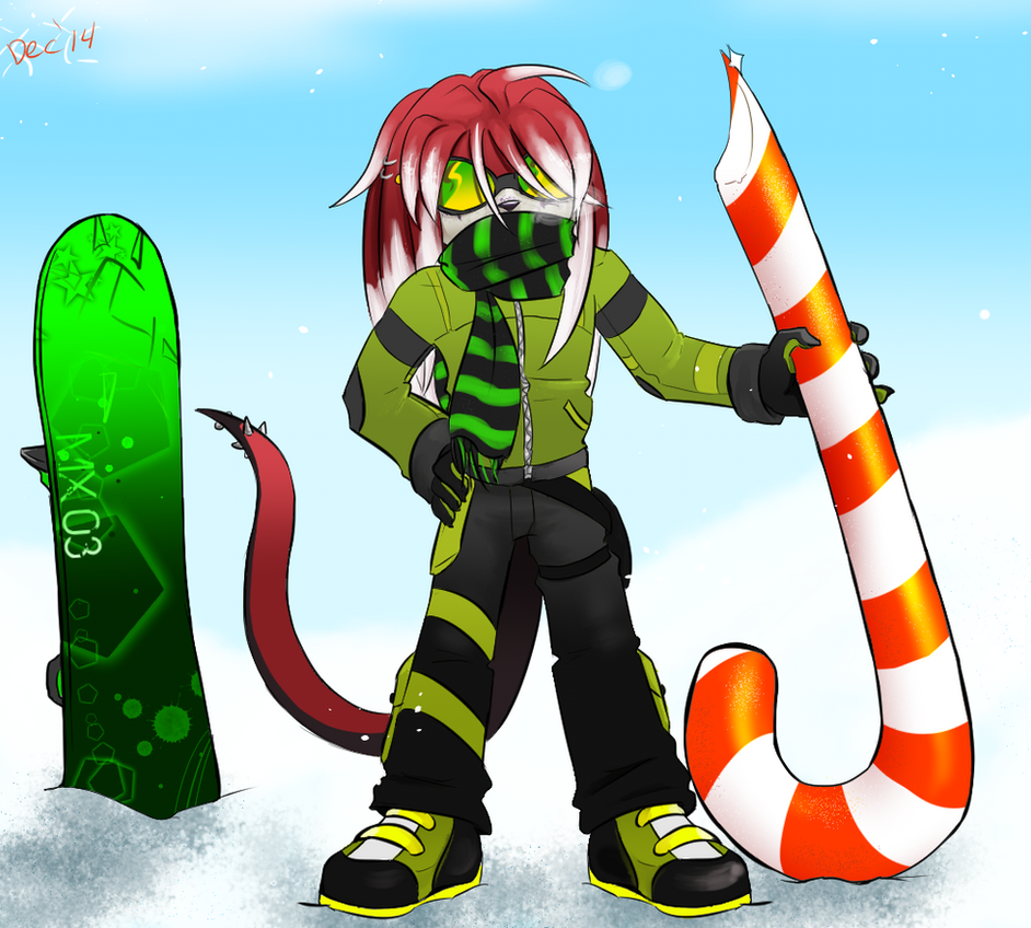 Support Giant Candy Cane 2014 by cyberill