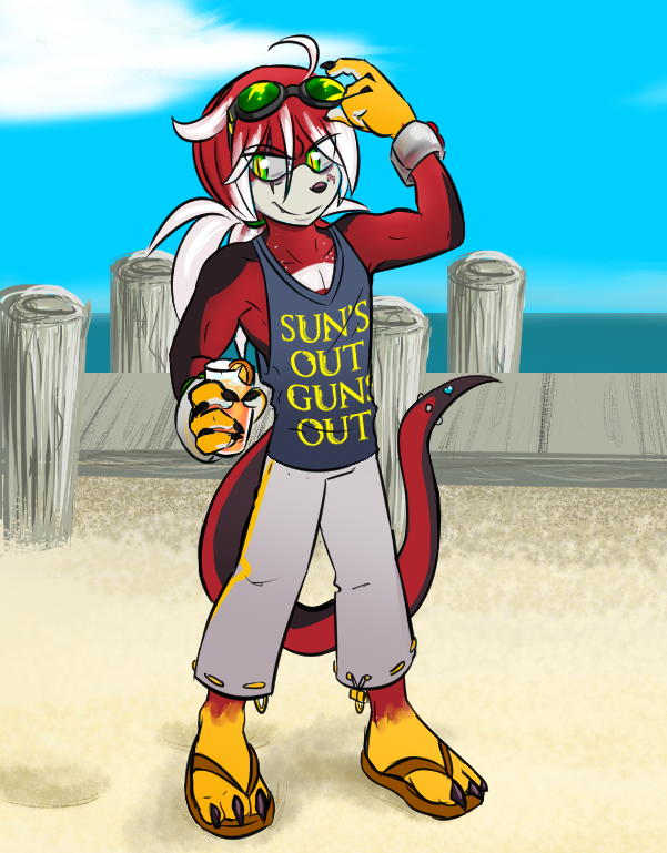 sun's out guns out by cyberill