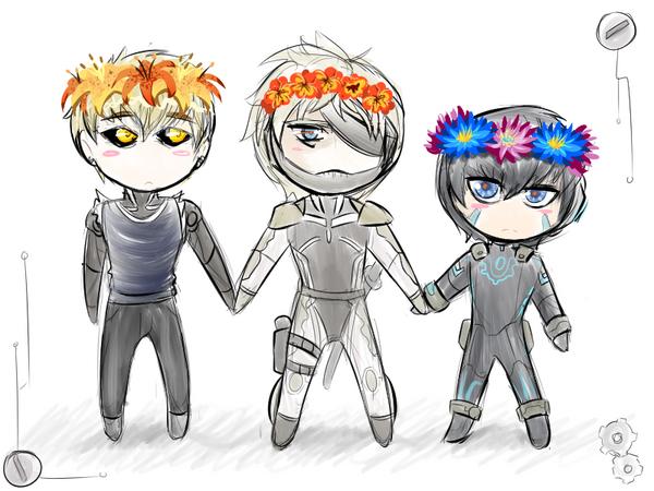 precious cyborgs by cyberill