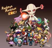 Rockman Rockman exe 2 by hakutaku