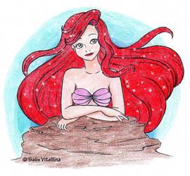 Ariel -Painted-