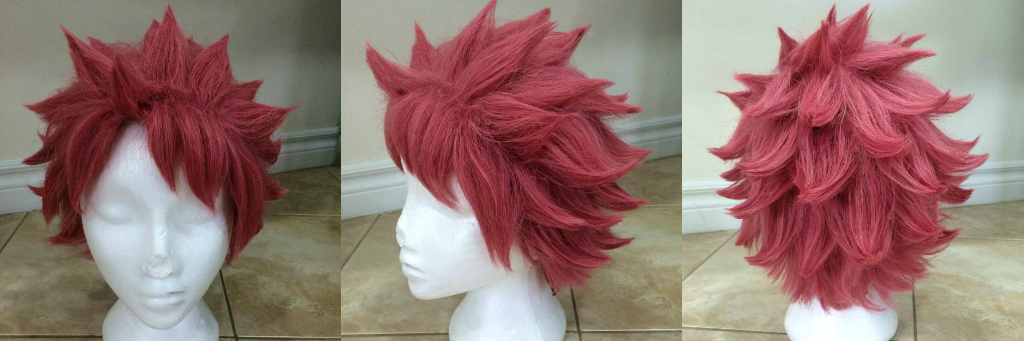 Fairy Tail: Natsu Dragneel Styled Wig for SALE! by Shellink