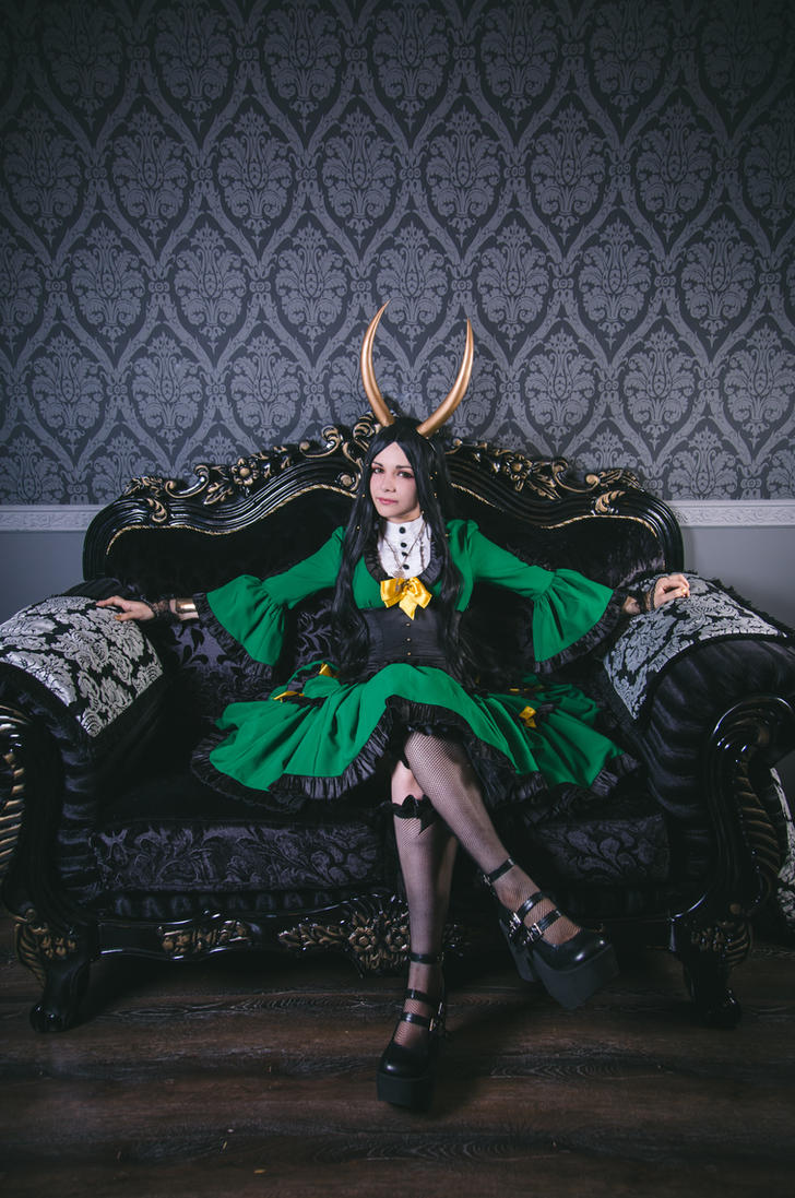 Lady Loki by JuliaVigner