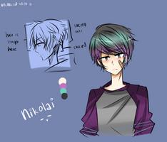 [OC]Nikolai by whimsical-idiot