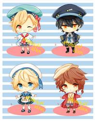 [CLOSED] Nautical boys