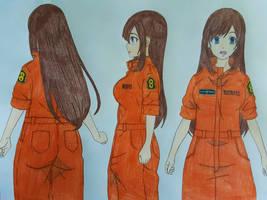 Kasumi Furukawa Reference Sheet (Fire Force)
