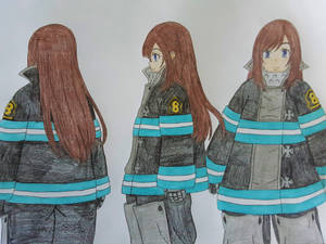 Kasumi's Bunker Gear (Fire Force)