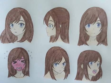 Kasumi Furukawa Reference Sheet (Fire Force) 2