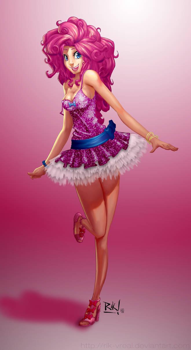 MLP gijinka : Pinkie Pie by Rik-VReal