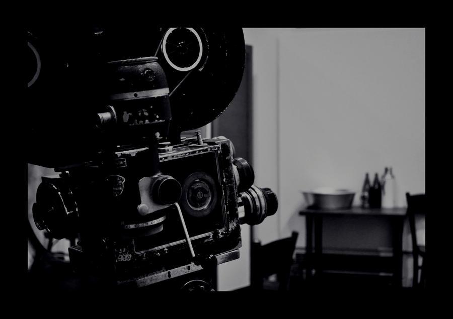 Old Movie Camera By Icedyl Rn