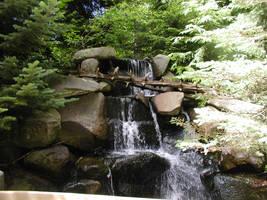 Water Flowing Off The Rocks by SmileForGooper