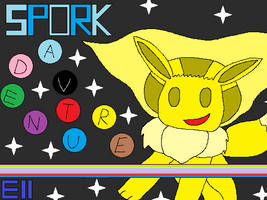 Tentative Pokemon Spork Adventure title screen!