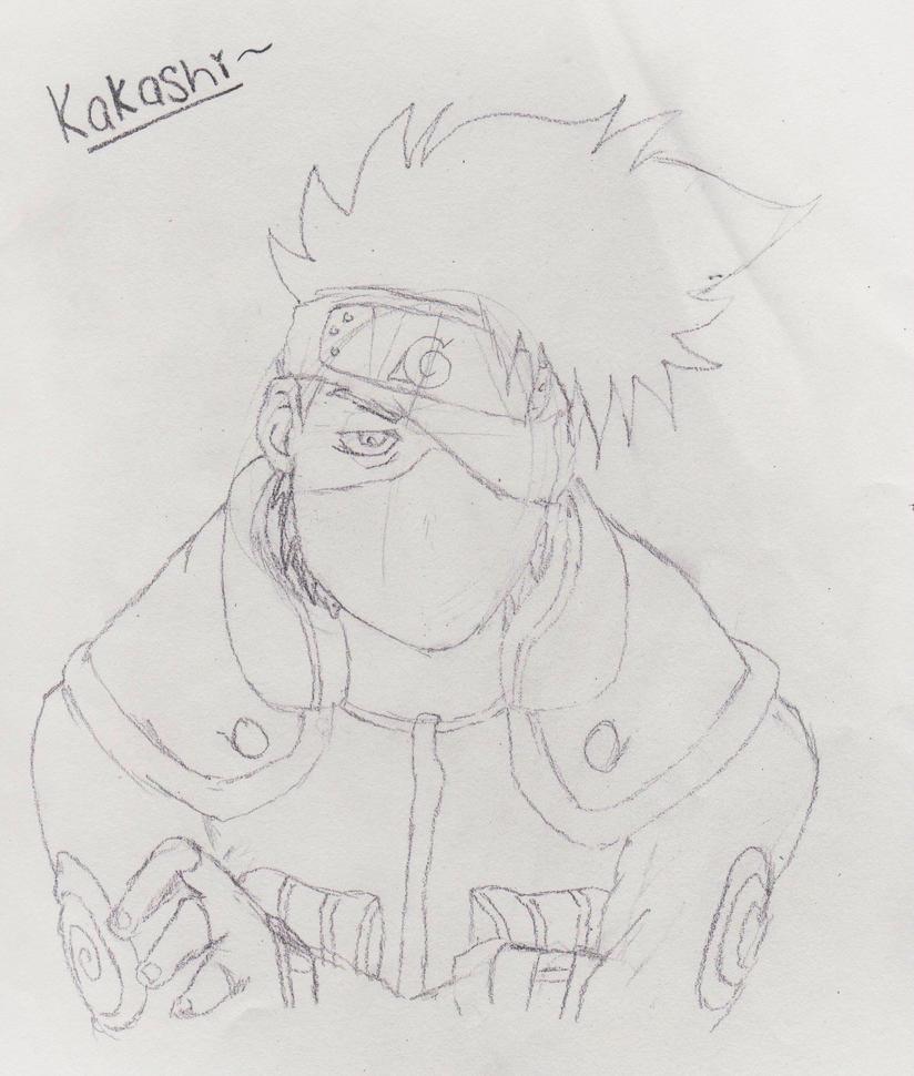 kakashi sketches - 824×970
