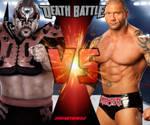 Road Warrior Animal vs The Animal Batista