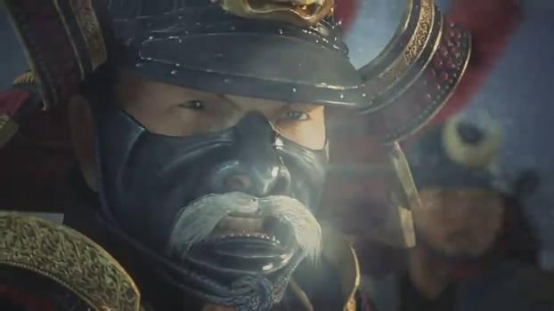 Angry Takeda Shingen