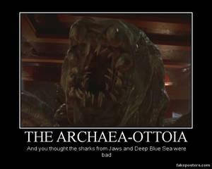 Archaea-Ottoia demotivator
