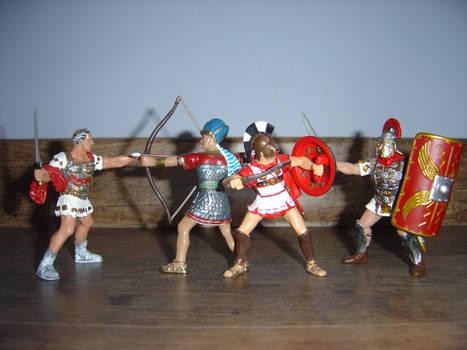 Greco-Egyptian alliance vs Romans