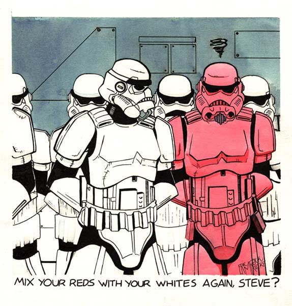 3 yr old stormtrooper gag by NotEricMrock