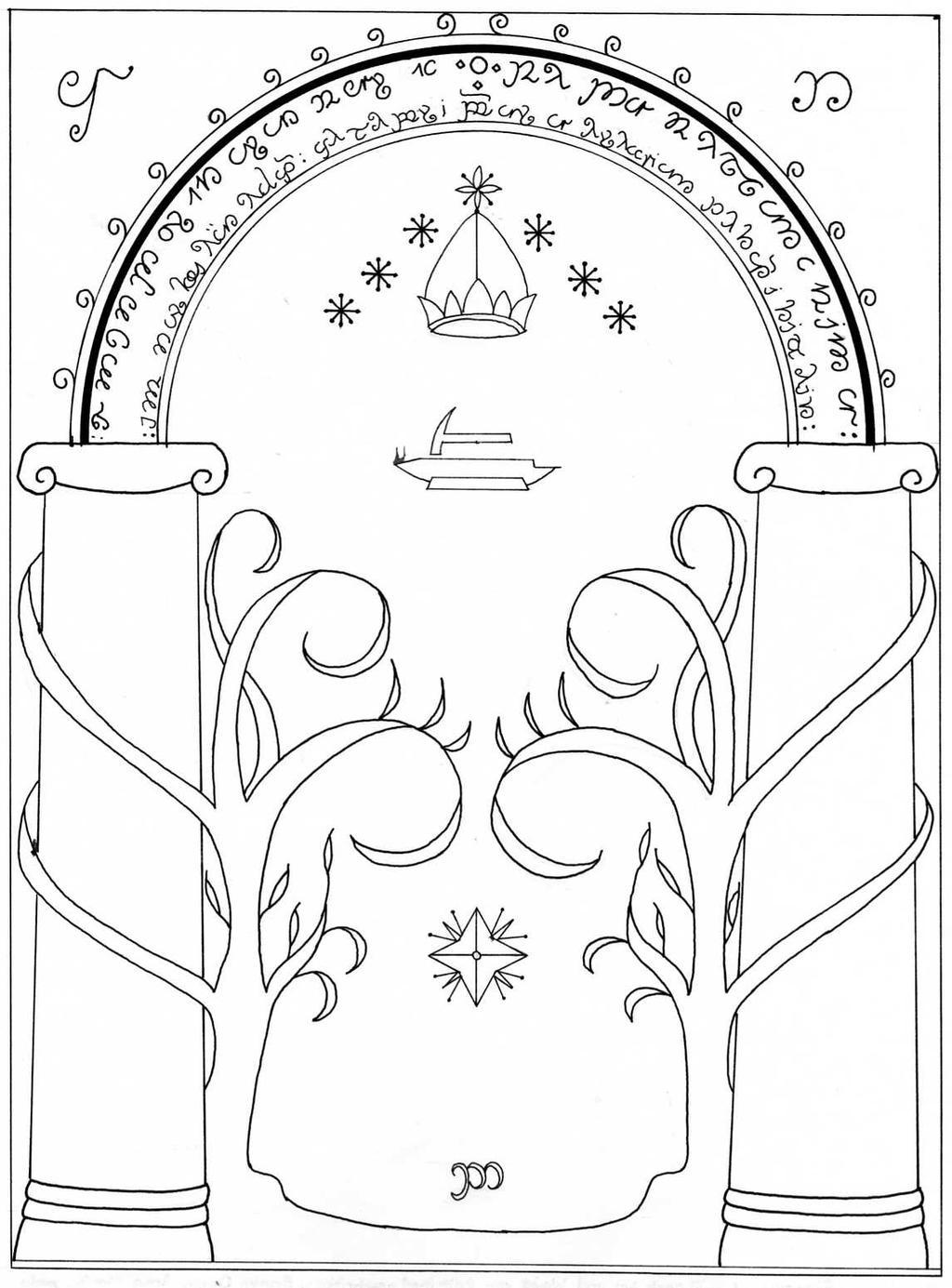 Doors of Durin (aka The West Gate)  sc 1 st  Jillian Tayce & Doors of Durin (aka The West Gate) \u2013 Jillian Tayce