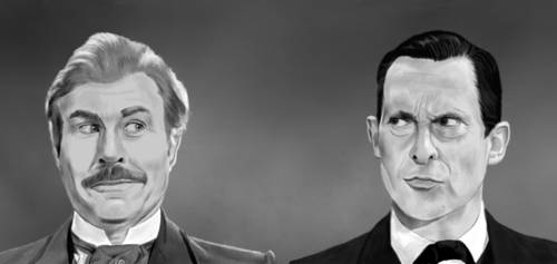 Holmes and Watson by Rapsag