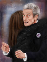 12th Doctor No Hugs by Rapsag