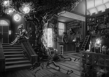The Magic Shop by Vylla