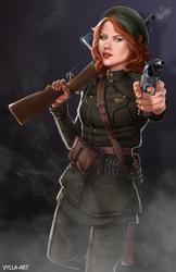 The Soviet Howling Commando