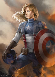 Captain America by Vylla