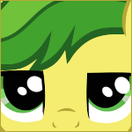 Grumpy Apple Fritter Icon by Painbow-Dash