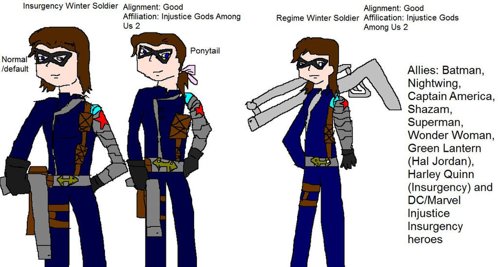 Insurgency and regime winter soldier by dinzydragon on - Regime 16 8 ...