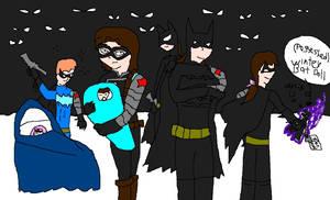 Bucky's zillion Winter Bat kids
