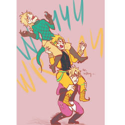 A screaming pile of Dios