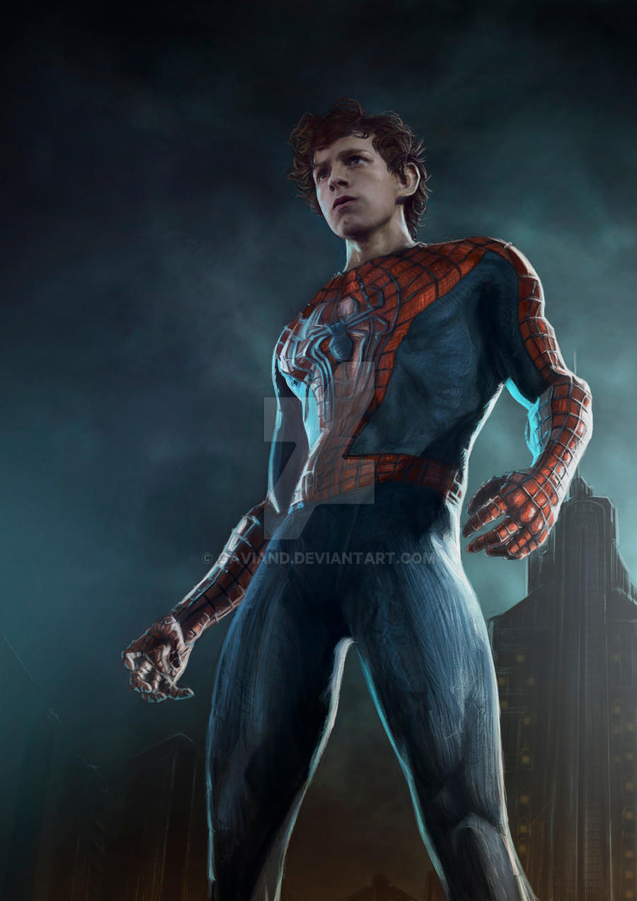 Spiderman-Tom Holland by Gaviand on DeviantArt Joseph Gordon Levitt Nightwing
