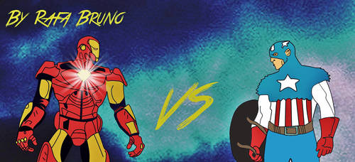 Cap Vs Tony by rafabruno0