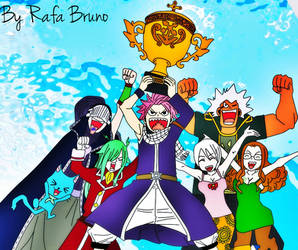 FairyTail Win by rafabruno0