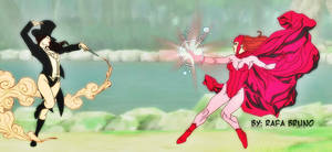 Zatanna vs Witch Scarlet