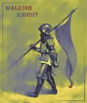 Walking Knight by selasewa