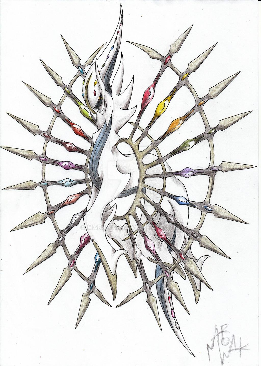 Mega Arceus by MAR0WAK on DeviantArt